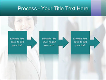 Confident Businesswoman PowerPoint Template - Slide 88