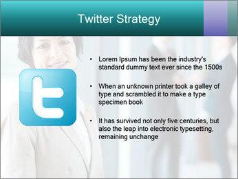 Confident Businesswoman PowerPoint Template - Slide 9