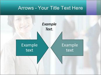 Confident Businesswoman PowerPoint Template - Slide 90