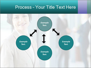 Confident Businesswoman PowerPoint Template - Slide 91