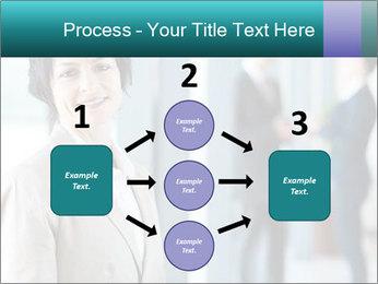 Confident Businesswoman PowerPoint Template - Slide 92