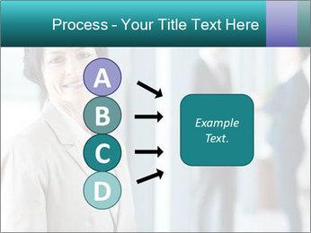 Confident Businesswoman PowerPoint Template - Slide 94