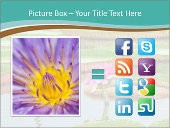 Waterlily PowerPoint Template - Slide 21
