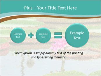 Waterlily PowerPoint Template - Slide 75