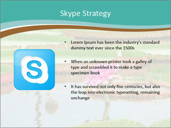 Waterlily PowerPoint Template - Slide 8