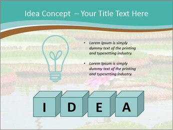 Waterlily PowerPoint Template - Slide 80