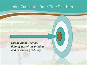 Waterlily PowerPoint Template - Slide 83