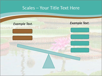 Waterlily PowerPoint Template - Slide 89