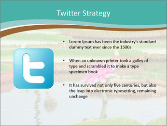 Waterlily PowerPoint Template - Slide 9