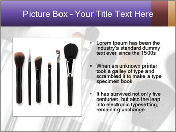 Brushes For Makeup PowerPoint Templates - Slide 13