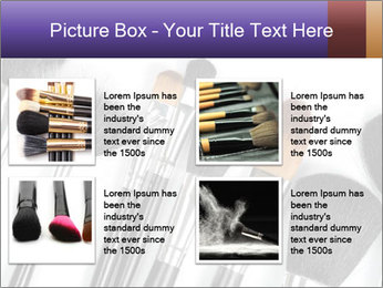 Brushes For Makeup PowerPoint Templates - Slide 14