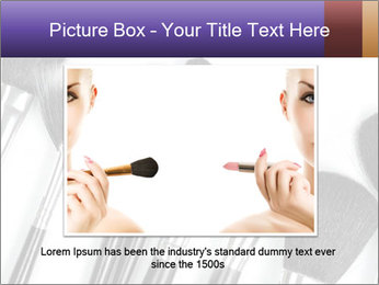 Brushes For Makeup PowerPoint Templates - Slide 15