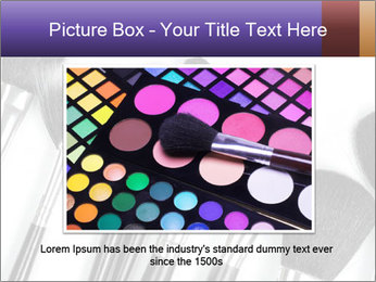 Brushes For Makeup PowerPoint Templates - Slide 16