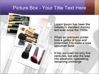 Brushes For Makeup PowerPoint Templates - Slide 17