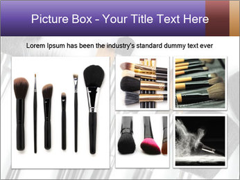 Brushes For Makeup PowerPoint Templates - Slide 19