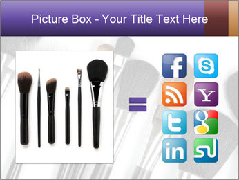 Brushes For Makeup PowerPoint Templates - Slide 21