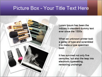 Brushes For Makeup PowerPoint Templates - Slide 23