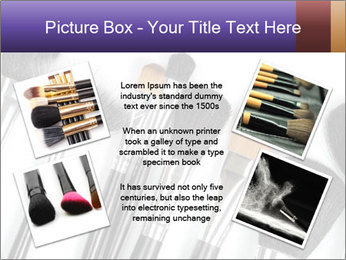 Brushes For Makeup PowerPoint Templates - Slide 24
