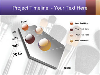Brushes For Makeup PowerPoint Templates - Slide 26