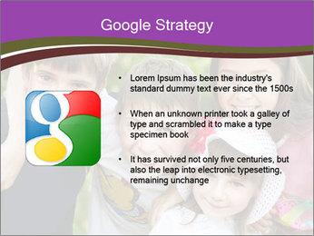 Four Children PowerPoint Template - Slide 10