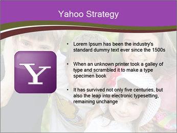Four Children PowerPoint Template - Slide 11