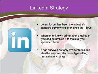 Four Children PowerPoint Template - Slide 12