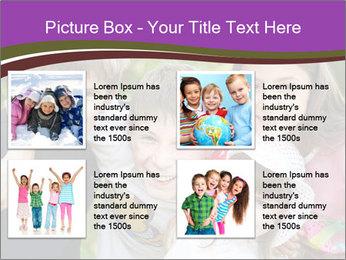 Four Children PowerPoint Template - Slide 14