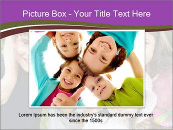 Four Children PowerPoint Template - Slide 15