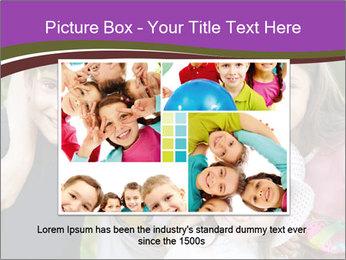Four Children PowerPoint Template - Slide 16