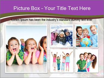 Four Children PowerPoint Template - Slide 19