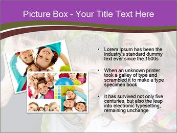 Four Children PowerPoint Template - Slide 20