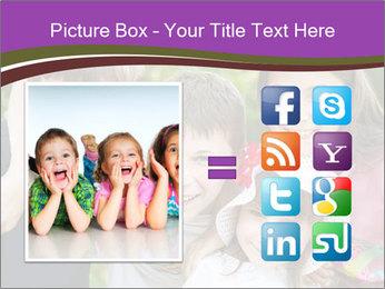 Four Children PowerPoint Template - Slide 21