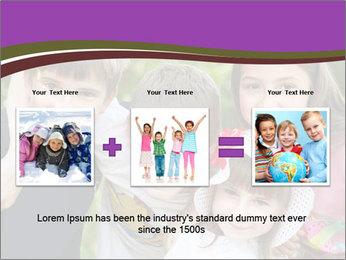 Four Children PowerPoint Template - Slide 22