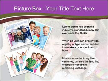 Four Children PowerPoint Template - Slide 23