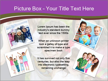 Four Children PowerPoint Template - Slide 24