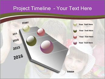 Four Children PowerPoint Template - Slide 26