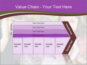 Four Children PowerPoint Template - Slide 27