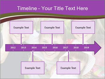 Four Children PowerPoint Template - Slide 28