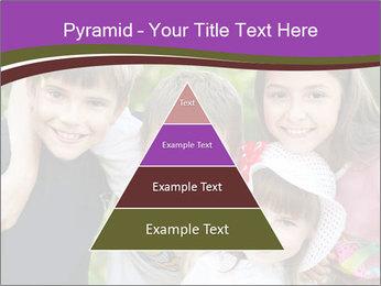 Four Children PowerPoint Template - Slide 30