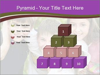 Four Children PowerPoint Template - Slide 31