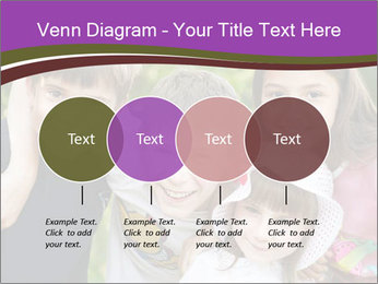 Four Children PowerPoint Template - Slide 32