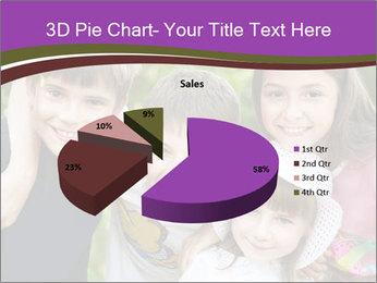 Four Children PowerPoint Template - Slide 35