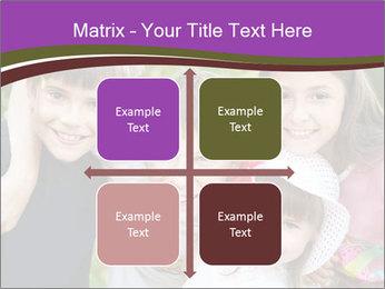 Four Children PowerPoint Template - Slide 37