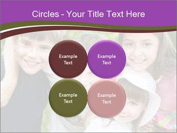 Four Children PowerPoint Template - Slide 38