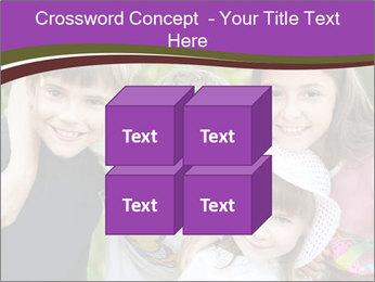 Four Children PowerPoint Template - Slide 39