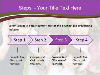 Four Children PowerPoint Template - Slide 4