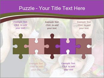 Four Children PowerPoint Template - Slide 41