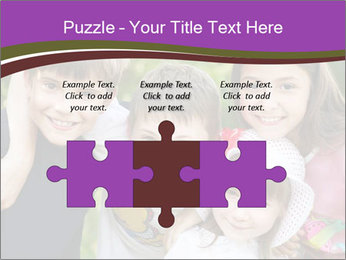 Four Children PowerPoint Template - Slide 42