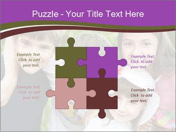 Four Children PowerPoint Template - Slide 43