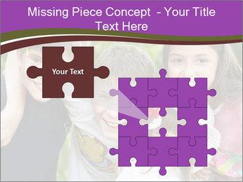Four Children PowerPoint Template - Slide 45